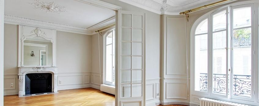 Rénovation complète d'appartement , Paris 7.