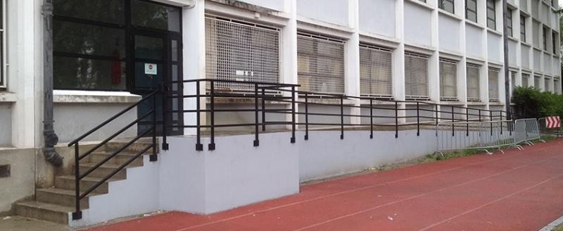 Travaux bâtiment, Lycée Jacquard.