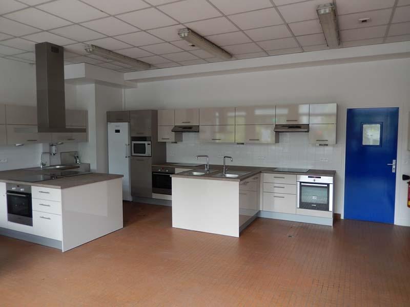 Lycée Kandinsky, Création d'une cuisine pédagogique.